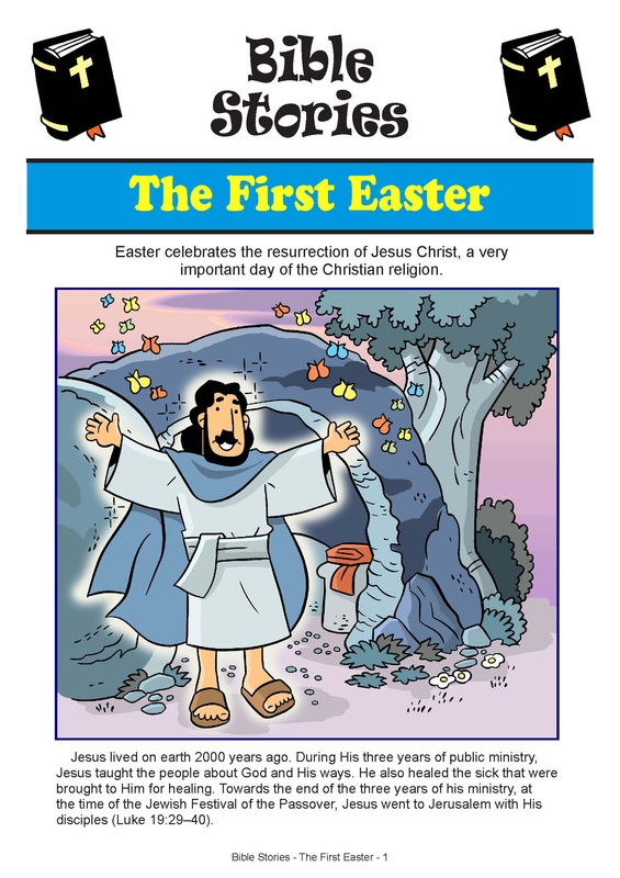 the easter story my little house